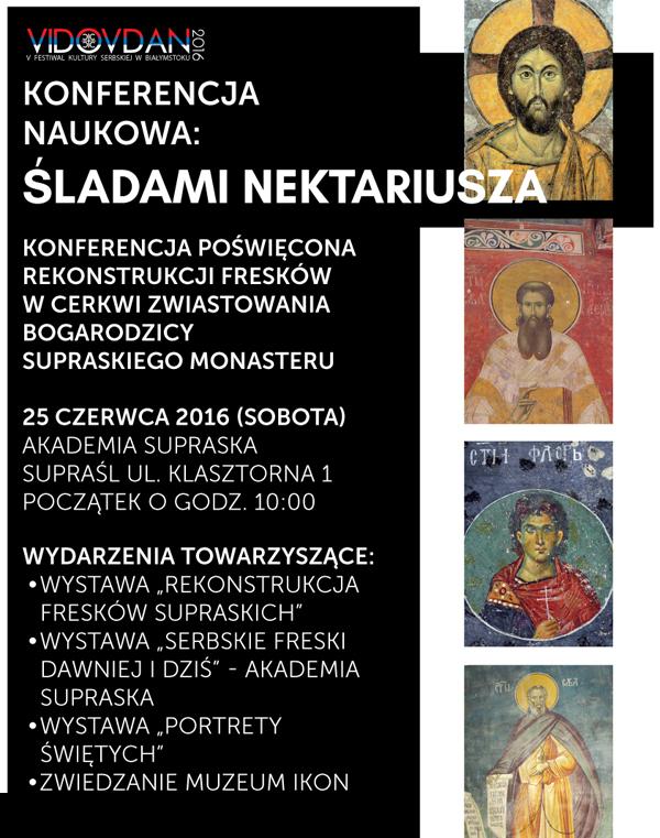 """Międzynarodowa Konferencja Naukowa """"Śladami Nektariusza"""""""