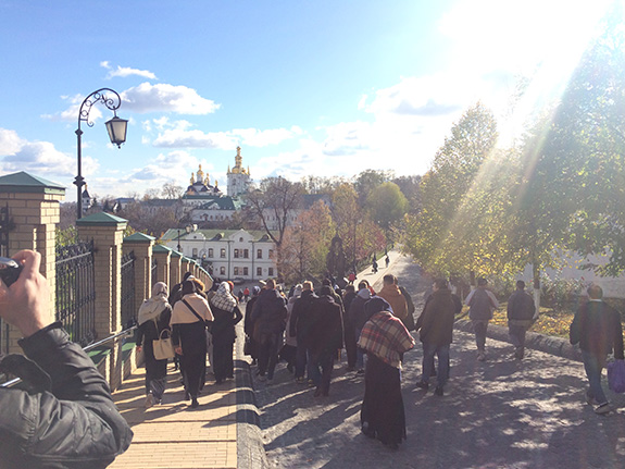 Pielgrzymka naszych studentów do Kijowa